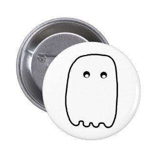 Scary Ghost Pinback Buttons