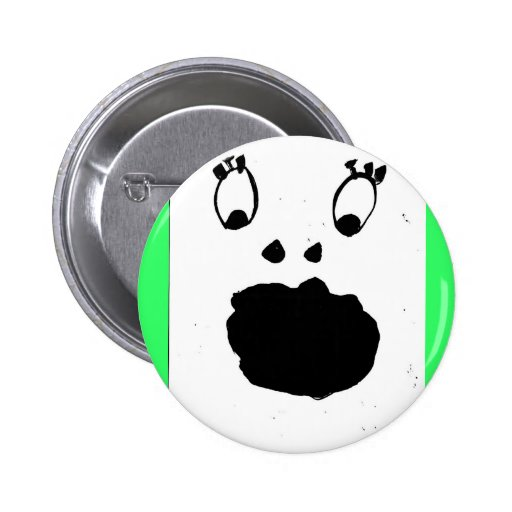 Scary Ghost Button