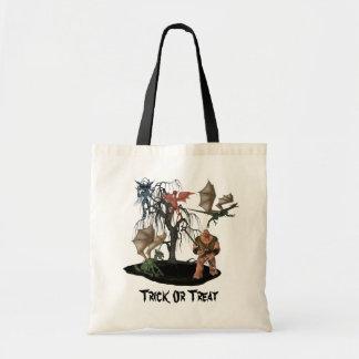 Scary Goblins Creatures Ogre Halloween Tote Bag