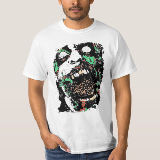 Scary Gross Zombie Eating Worms Shirt
