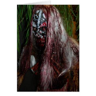 Scary Guy Halloween Card
