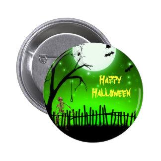 Scary Halloween Pin