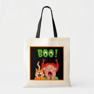 Scary Halloween Boo Bags