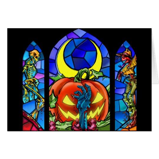 Scary Halloween! Card