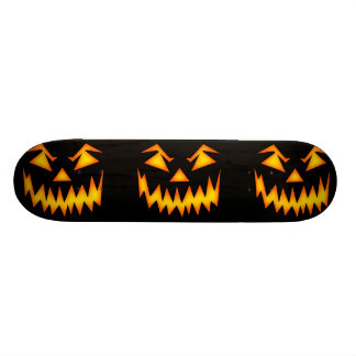 Scary Halloween Face Skate Board