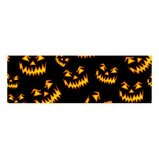 Scary Halloween Faces Business Cards
