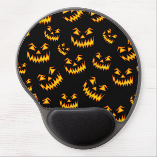 Scary Halloween Faces Gel Mousepads
