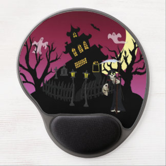 Scary Halloween Gel Mouse Pad