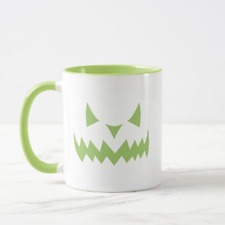 Scary Halloween Jack-o-lantern Pumpkin Coffee Mug
