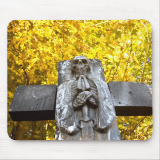 Scary Halloween Mouse Pad