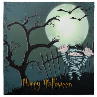 Scary Halloween Napkins