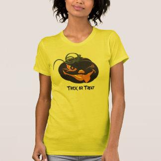 Scary Halloween Pumpkin Trick or Treat Tee Shirt