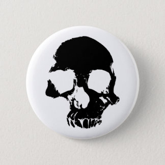 Scary Halloween skull cool gothic 6 Cm Round Badge