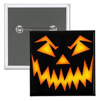Scary Halloween Smile Button