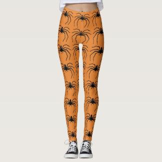 Scary Halloween Spider Designed Leggings