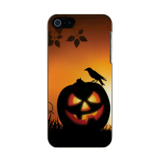 Scary Halloween Themed Background Incipio Feather® Shine iPhone 5 Case