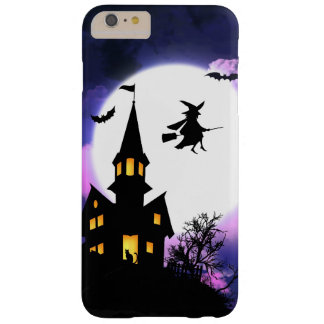Scary Haunted House Happy Halloween Barely There iPhone 6 Plus Case