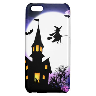 Scary Haunted House  Happy Halloween iPhone 5C Case