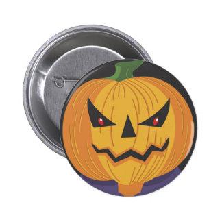 Scary Jack-o-Lantern Button