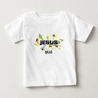 Scary Jesus Baby T-Shirt