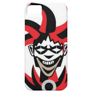 Scary joker design iPhone 5 cover