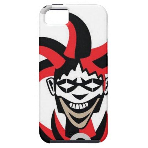 Scary joker design iPhone 5/5S cases