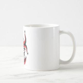 Scary joker design mug