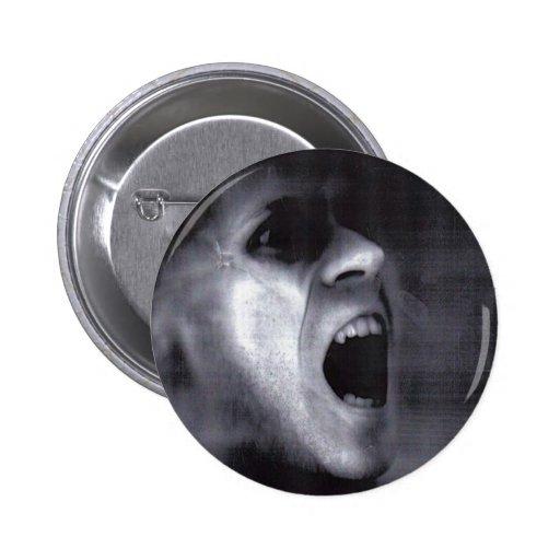 Scary Ken Button Badge