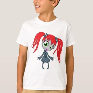 Scary Little Creepy Girl T-Shirt