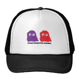 Scary Monster Friends Mesh Hats