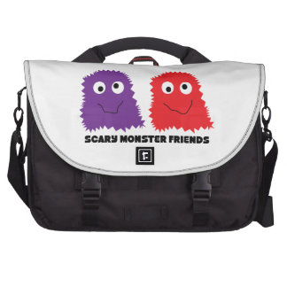 Scary Monster Friends Bags For Laptop