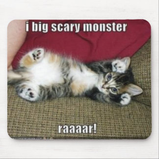 Scary Monster Mouse Pad