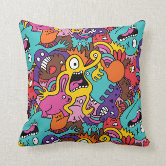 Scary Monsters Cushion