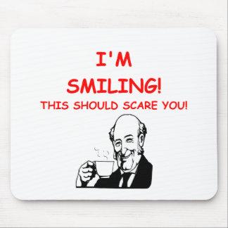 scary mousepad