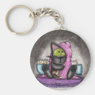 Scary Movie -Cat and Mouse Key Ring