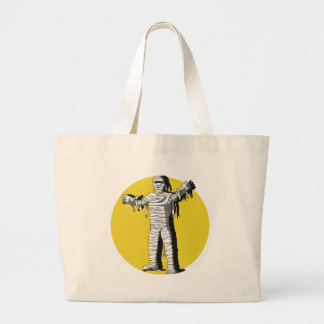 Scary Mummy and Full Moon Products Jumbo Tote Bag