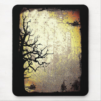 Scary Night Mouse Pad