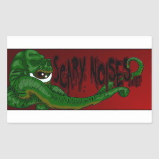 Scary Noises! Banner Sticker