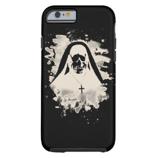 Scary now - cream white tough iPhone 6 case