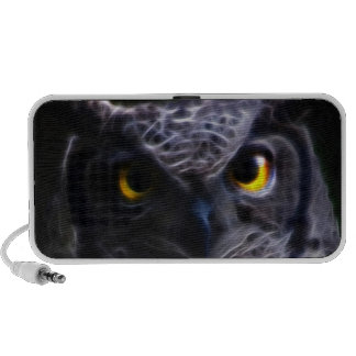 Scary owl Halloween iPod Speakers