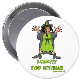 Scary Political Buttons