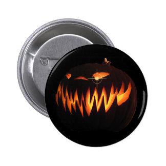 Scary Pumpkin Button