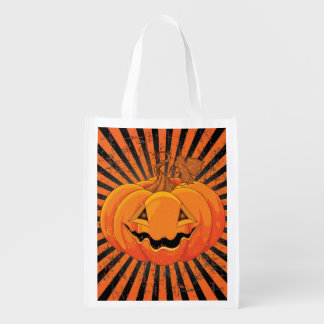 Scary Pumpkin Jack O' Lantern