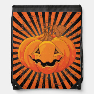 Scary Pumpkin Jack O' Lantern Rucksacks
