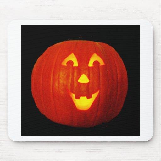 """Scary Pumpkin"" Mousepads"
