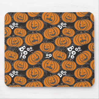 scary pumpkins mouse pad