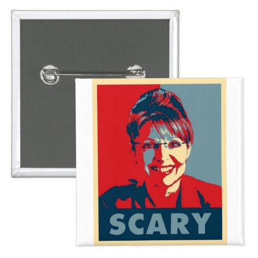Scary Sarah Palin button