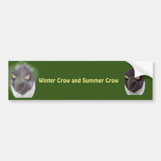 Scary Scarecrow Customise Bumper Sticker