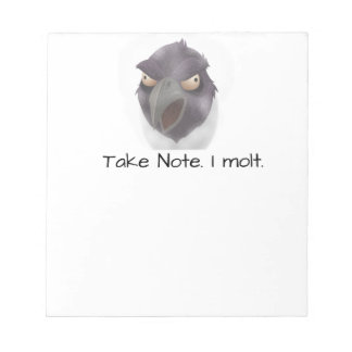 Scary Scarecrow Customize Notepad