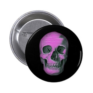 Scary Scull 6 Cm Round Badge